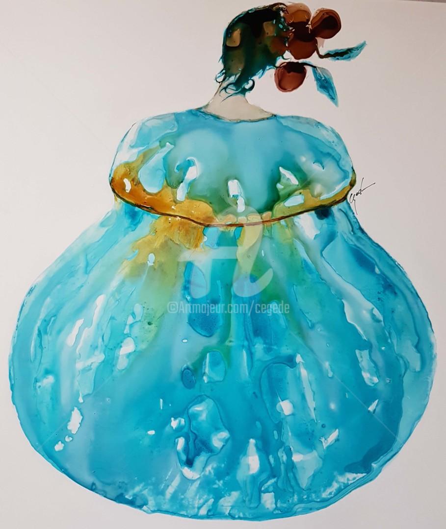 CEGEDE - bonbonniere bleue
